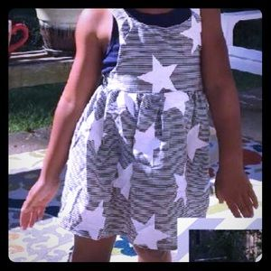 Other - Cute summer Stars and Stripes girls dress 🇺🇸